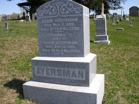 AYERSMAN, SUSANNA - Wayne County, Iowa | SUSANNA AYERSMAN