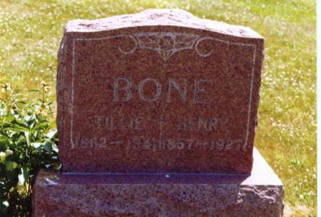 BONE, HENRY - Wayne County, Iowa | HENRY BONE