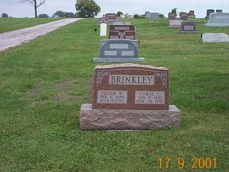 BRINKLEY, CORAL C. - Wayne County, Iowa | CORAL C. BRINKLEY