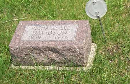 DAVIDSON, RICHARD - Wayne County, Iowa | RICHARD DAVIDSON