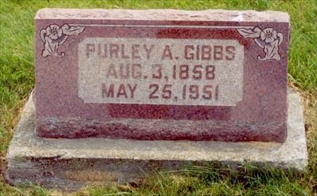GIBBS, PURLEY A. - Wayne County, Iowa | PURLEY A. GIBBS