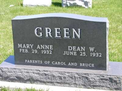GREEN, CAROL - Wayne County, Iowa | CAROL GREEN