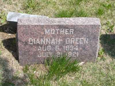 SHELLEY GREEN, DIANNAH - Wayne County, Iowa | DIANNAH SHELLEY GREEN