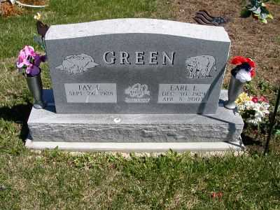 GREEN, EARL E. - Wayne County, Iowa | EARL E. GREEN
