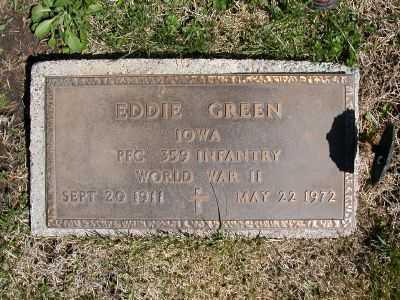 GREEN, EDDIE - Wayne County, Iowa   EDDIE GREEN