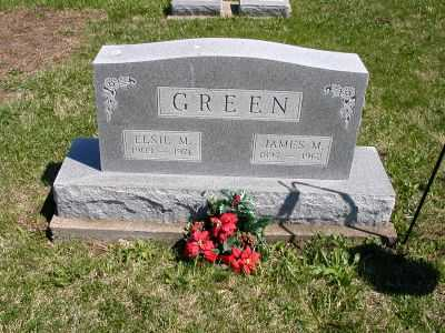 GREEN, ELSIE M. - Wayne County, Iowa | ELSIE M. GREEN