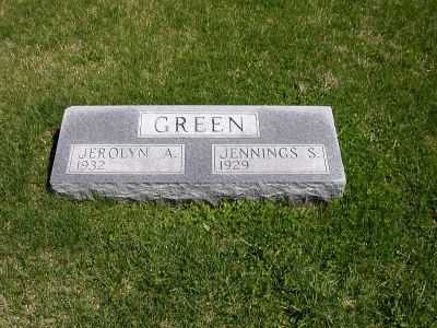 GREEN, JENNINGS S. - Wayne County, Iowa | JENNINGS S. GREEN