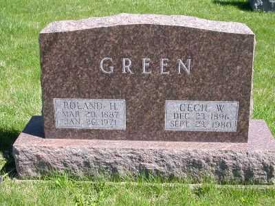 GREEN, CECIL - Wayne County, Iowa | CECIL GREEN