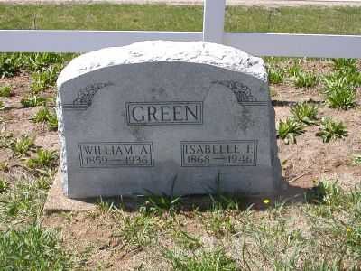 GREEN, WILLIAM ARTHUR - Wayne County, Iowa | WILLIAM ARTHUR GREEN