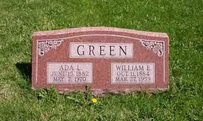 GREEN, ADA L. - Wayne County, Iowa | ADA L. GREEN