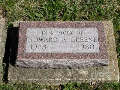 GREENE, HOWARD A. - Wayne County, Iowa | HOWARD A. GREENE