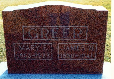 GREER, JAMES H - Wayne County, Iowa | JAMES H GREER