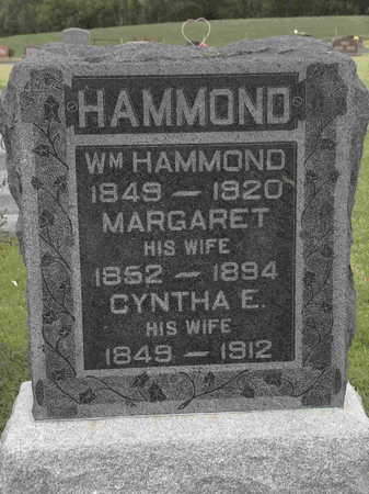 HAMMOND, MARGARET - Wayne County, Iowa | MARGARET HAMMOND