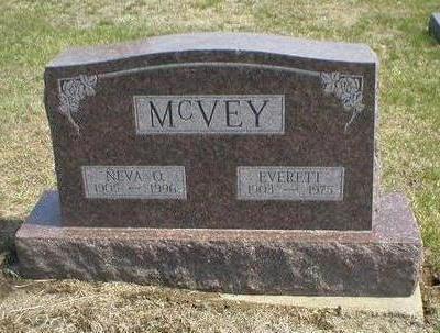 MCVEY, EVERETT - Wayne County, Iowa | EVERETT MCVEY