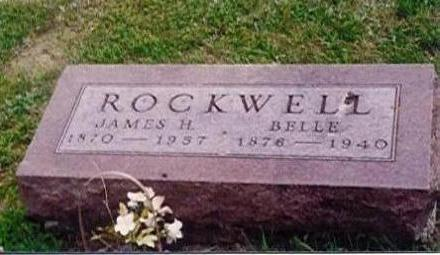 ROCKWELL, JAMES AND BELLE BYARD - Wayne County, Iowa | JAMES AND BELLE BYARD ROCKWELL