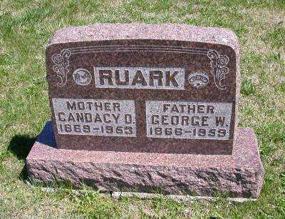RUARK, GEORGE W. - Wayne County, Iowa | GEORGE W. RUARK