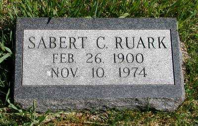 RUARK, SABERT C. - Wayne County, Iowa | SABERT C. RUARK