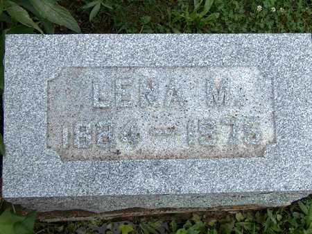 SECREST, LENA MAY - Wayne County, Iowa | LENA MAY SECREST