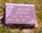 SHRIVER, WILLIAM - Wayne County, Iowa | WILLIAM SHRIVER