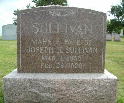 SULLIVAN, MARY E - Wayne County, Iowa | MARY E SULLIVAN