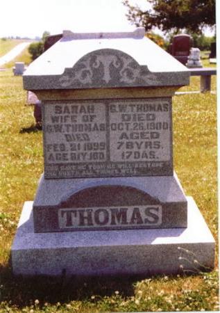THOMAS, GEORGE WASHINGTON - Wayne County, Iowa | GEORGE WASHINGTON THOMAS