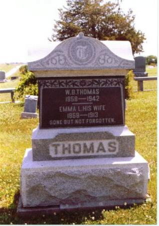 THOMAS, WILLIAM BASIL - Wayne County, Iowa | WILLIAM BASIL THOMAS