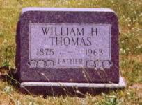 THOMAS, WILLIAM HARVEY - Wayne County, Iowa | WILLIAM HARVEY THOMAS
