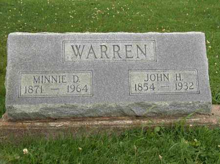 WARREN, MINNIE D. - Wayne County, Iowa | MINNIE D. WARREN