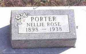 PORTER, NELLIE ROSE - Webster County, Iowa | NELLIE ROSE PORTER