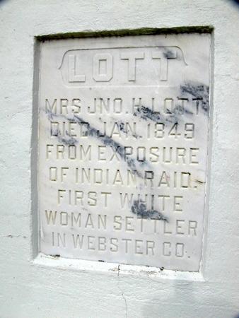 LOTT, MRS. JNO. H. - Webster County, Iowa | MRS. JNO. H. LOTT