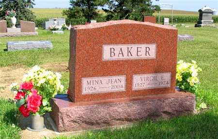 BAKER, MINA JEAN - Webster County, Iowa | MINA JEAN BAKER