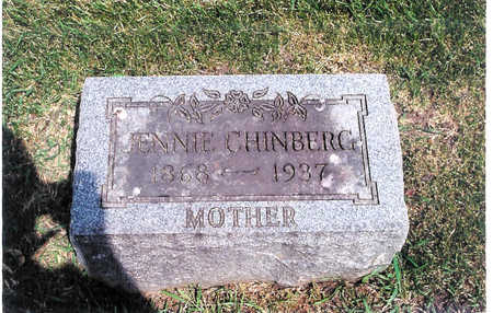 CHINBERG, JENNIE - Webster County, Iowa | JENNIE CHINBERG