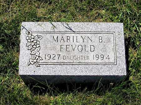 FEVOLD, MARILYN B. - Webster County, Iowa   MARILYN B. FEVOLD