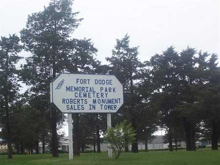 FORT DODGE MEMORIAL PARK, CEMETERY - Webster County, Iowa | CEMETERY FORT DODGE MEMORIAL PARK