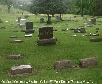 HALE, FAMILY PLOT - Webster County, Iowa | FAMILY PLOT HALE