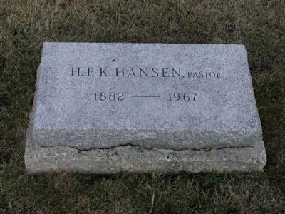 HANSEN, HANS PEDER KRISTIAN - Webster County, Iowa | HANS PEDER KRISTIAN HANSEN