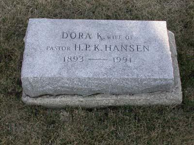 HANSEN, DORA K. - Webster County, Iowa | DORA K. HANSEN