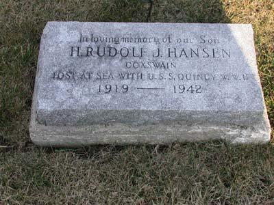 HANSEN, H. RUDOLF J. - Webster County, Iowa | H. RUDOLF J. HANSEN