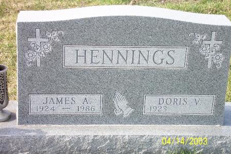 HENNINGS, JAMES AUGUST - Webster County, Iowa | JAMES AUGUST HENNINGS