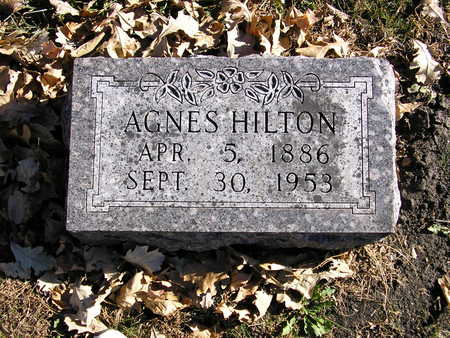 HILTON, AGNES - Webster County, Iowa | AGNES HILTON