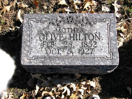 HILTON, OLAVA (OLIVE) - Webster County, Iowa | OLAVA (OLIVE) HILTON