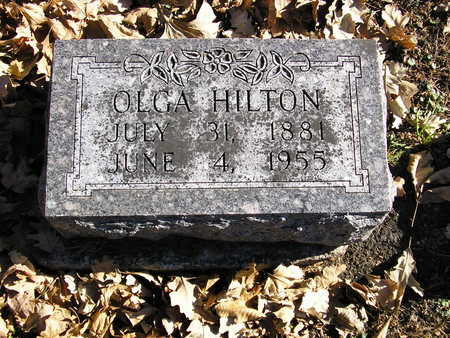 HILTON, OLGA - Webster County, Iowa | OLGA HILTON
