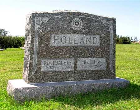 HOLLAND, REV. HJALMER - Webster County, Iowa | REV. HJALMER HOLLAND