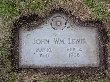 LEWIS, JOHN WILLIAM - Webster County, Iowa | JOHN WILLIAM LEWIS