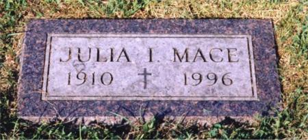 MACE, JULIA I. - Webster County, Iowa | JULIA I. MACE