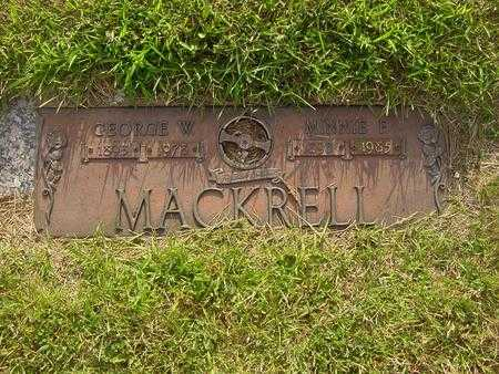 MACKRELL, GEORGE - Webster County, Iowa | GEORGE MACKRELL