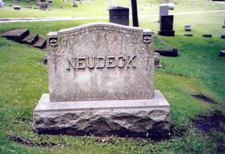 NEUDECK, LOUIS W. - Webster County, Iowa | LOUIS W. NEUDECK