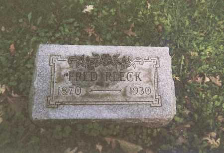 REECK, FREDRICK - Webster County, Iowa | FREDRICK REECK