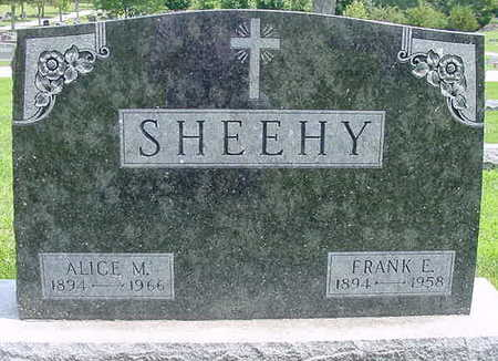 SHEEHY, FRANK E. - Webster County, Iowa | FRANK E. SHEEHY
