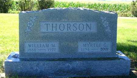 THORSON, MYRTLE G. - Webster County, Iowa | MYRTLE G. THORSON
